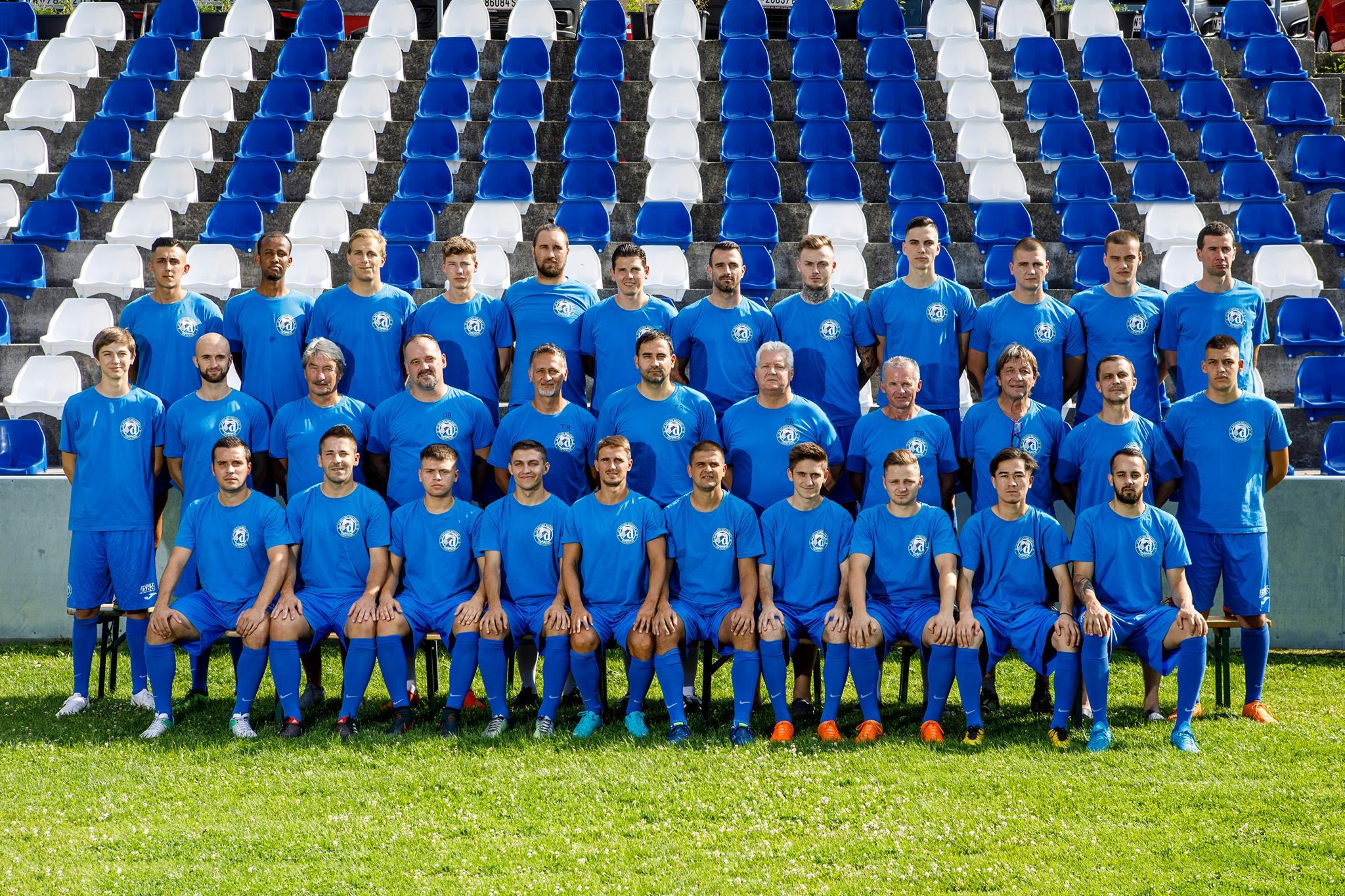 Kader SV Dinamo Helfort 1150 Wien Kampfmannschaft Fußball Österreich